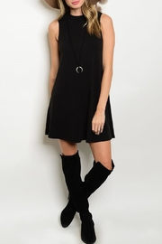 Adore Clothes & More Black Summer Dress - Front cropped