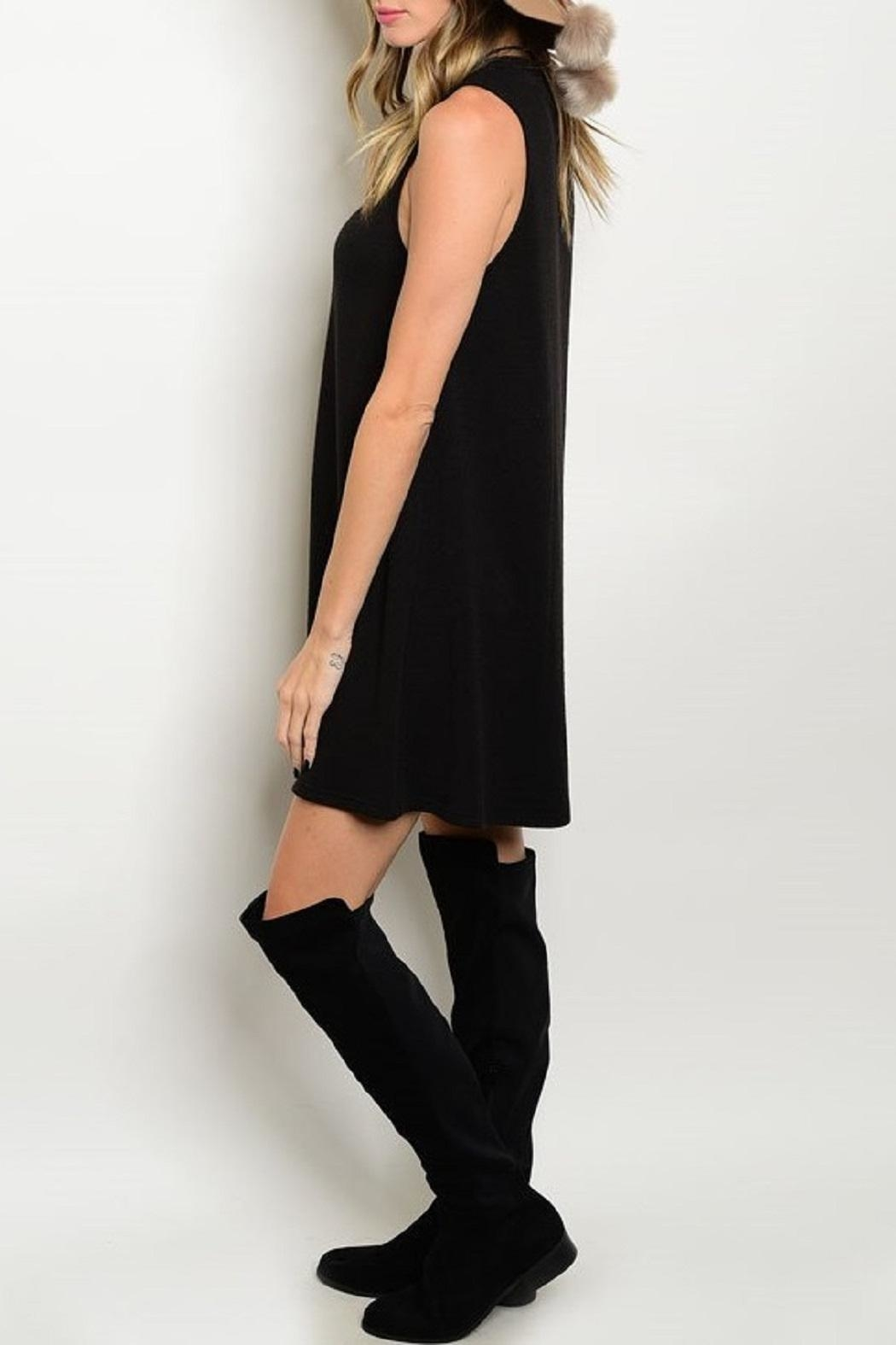 Adore Clothes & More Black Summer Dress - Front Full Image