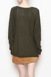 Black Swan Aria Tie Sweater - Back cropped