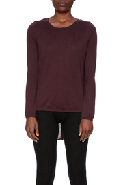 Black Swan Cecily Back Button Sweater - Side cropped