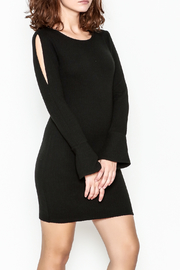 Black Swan Open Sleeve Dress - Product Mini Image