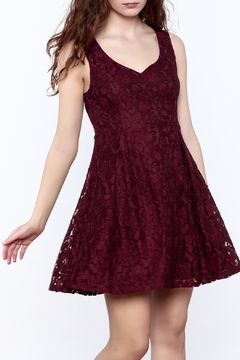 Shoptiques Product: Marsala Prom Dress