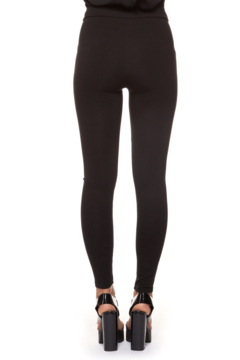 Black Tape Double Zip Leggings - Alternate List Image