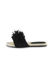 Pretty You London Black Tassle Sandal - Product Mini Image