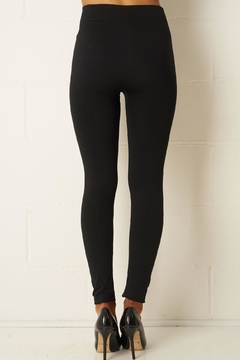 frontrow Black Thick Leggings - Alternate List Image