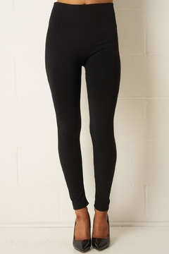 frontrow Black Thick Leggings - Product List Image