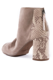 Seychelles Black Tie Ankle Boot - Side cropped