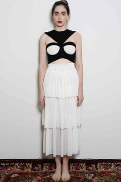 Levinia Konyalian Black Top Bustier - Alternate List Image