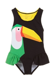 Stella McCartney Kids Black 'Toucan' Swimsuit - Product Mini Image