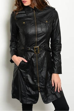Ark & Co. Black Trench Coat - Product List Image