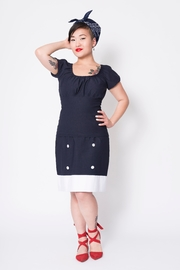 Putre Fashion Black Trixie Top - Product Mini Image