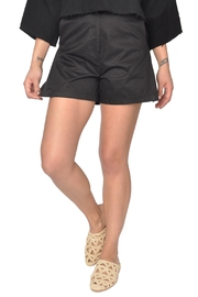 Six Crisp Days Black Trouser Shorts - Product Mini Image