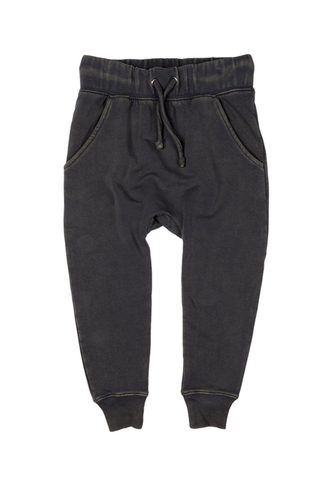 Rock Your Baby Black Trousers - Front Cropped Image