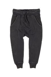Rock Your Baby Black Trousers - Front cropped