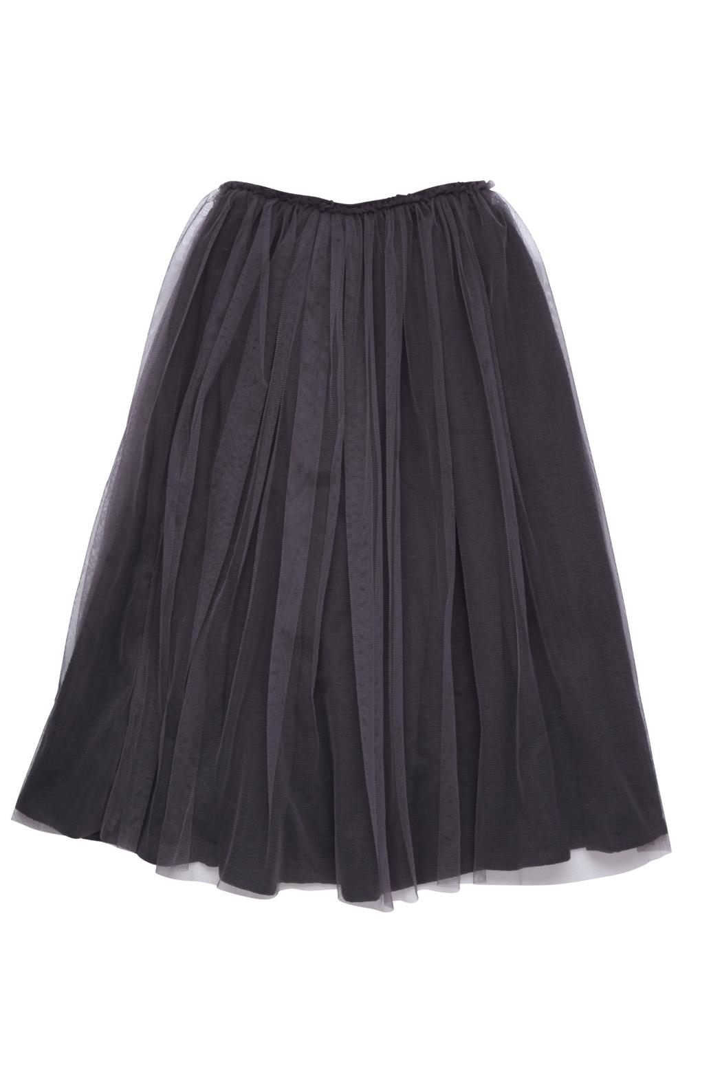 Rock Your Baby Black Tulle Skirt - Front Full Image