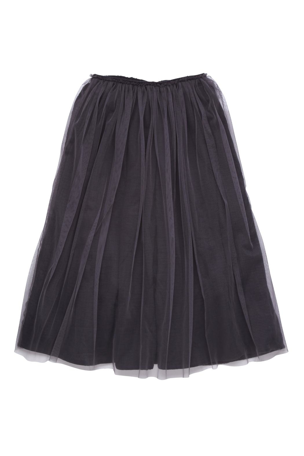 Rock Your Baby Black Tulle Skirt - Front Cropped Image
