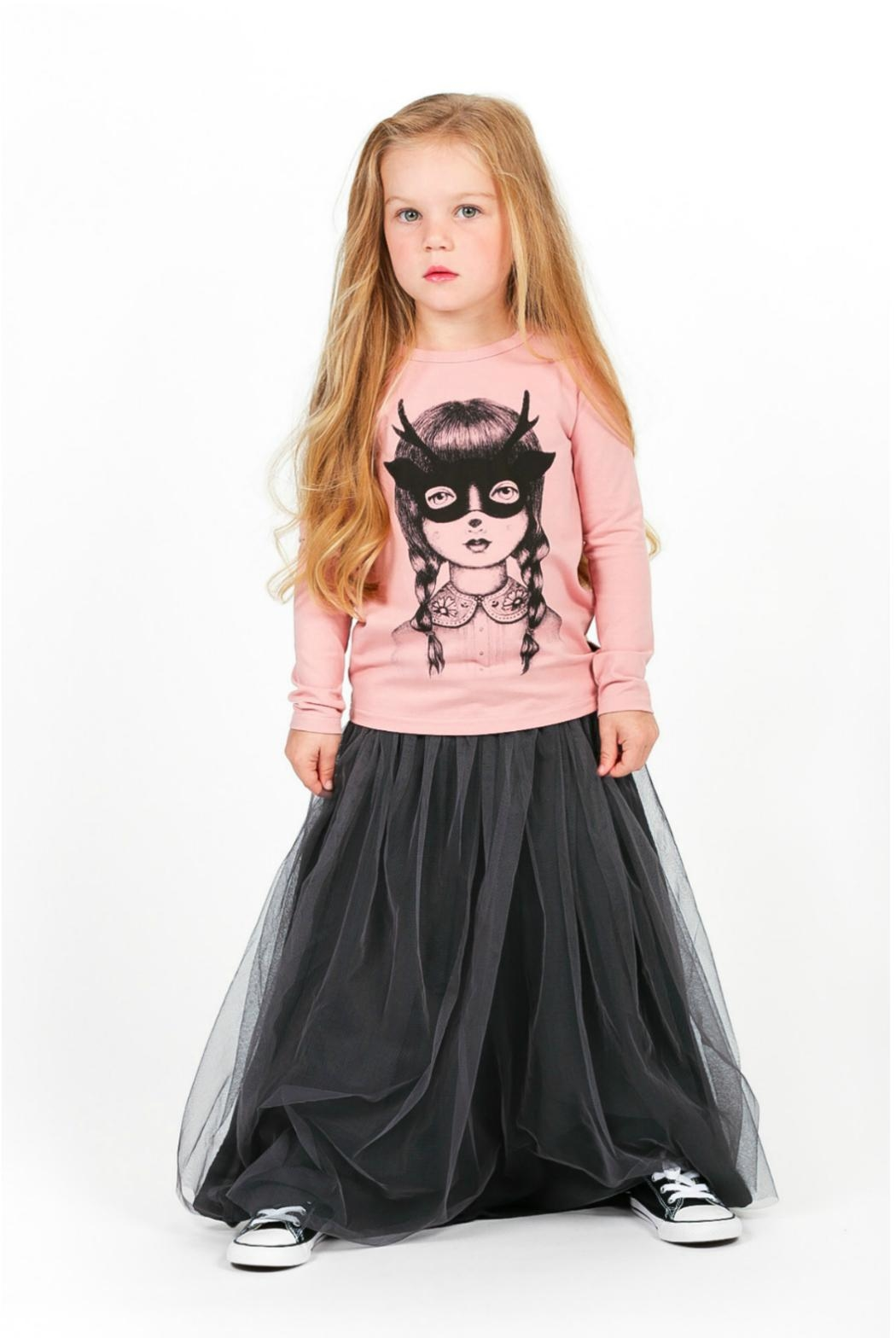 Rock Your Baby Black Tulle Skirt - Main Image