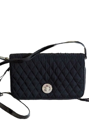 Vera Bradley Black Turnlock Crossbody - Product Mini Image
