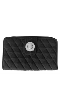 Vera Bradley Black Turnlock Wallet - Product List Image