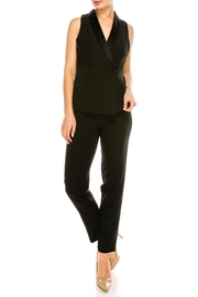 Do & Be Black Tuxedo Jumpsuit - Product Mini Image