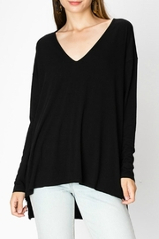 HYFVE Black V-Neck Dolman - Product Mini Image