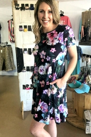 Izzie's Boutique Black Vacation Dress - Front cropped