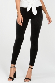 Spanx Black Velvet Leggings - Product Mini Image