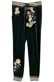 Fashion Week Black Velvet Pants - Product Mini Image