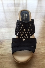 Spring Step  black Vino sandal - Product Mini Image