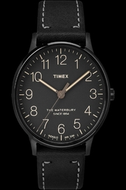 timex Black Waterbury Watch - Product Mini Image