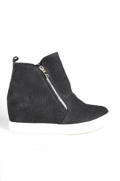 OC Avenue Black Wedge Sneakers - Product List Image