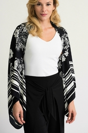 Joseph Ribkoff  Black+White Cover Up Style - Product Mini Image