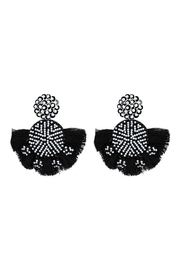 Madison Avenue Accessories Black&White Fringe - Product Mini Image