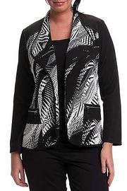 Bali Corp. Black White Jacket - Product Mini Image
