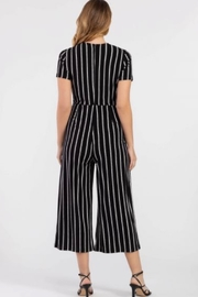 Tribal Black/white jumpsuit - Side cropped
