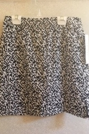 Tribal Black & White pattern skort - Product Mini Image