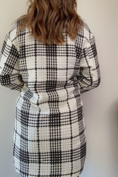 Lucy & Co. Black & White Plaid Jacket - Alternate List Image