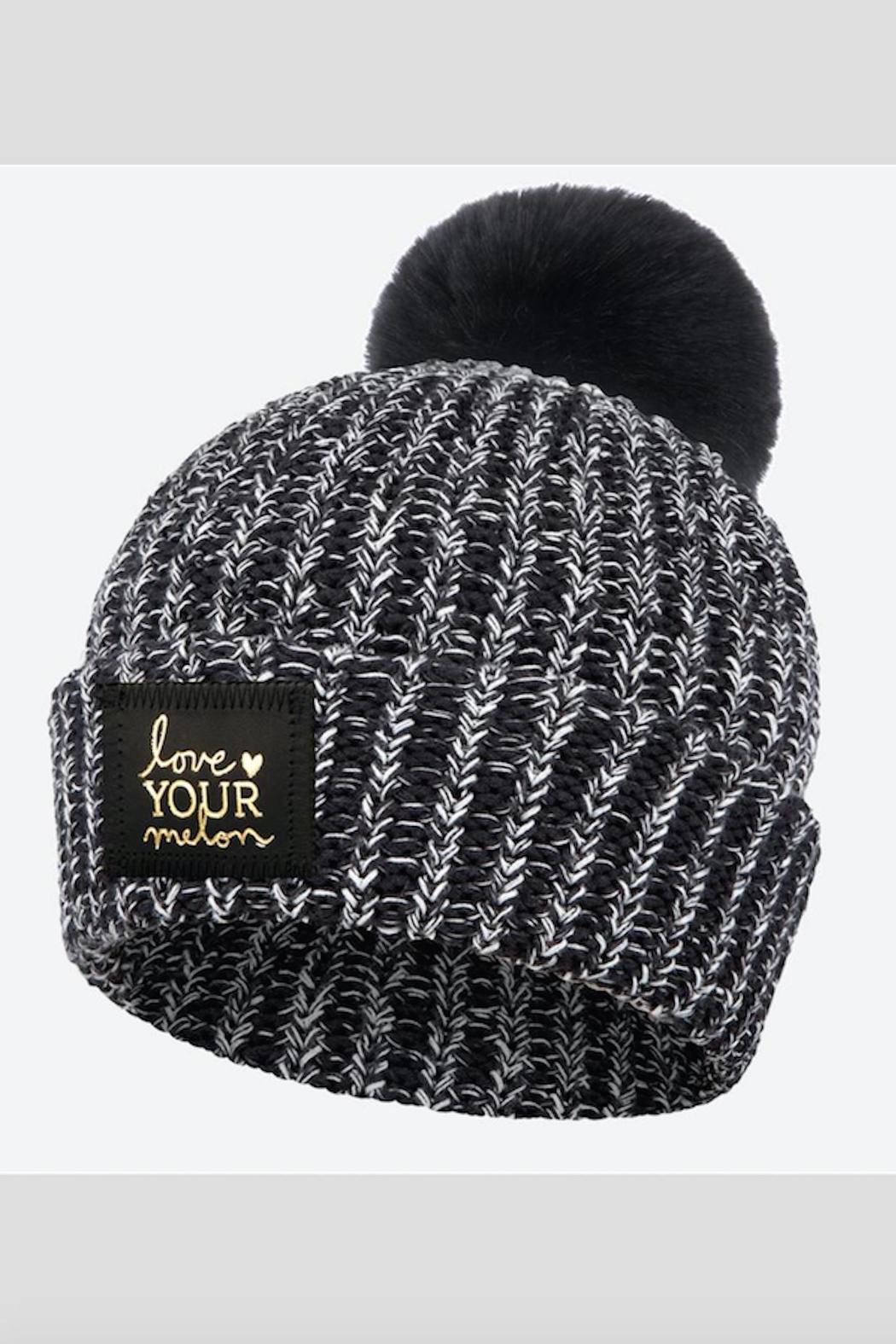 ffc4995e19c Love Your Melon Black White Speckled Pom from New Jersey by Barefoot ...