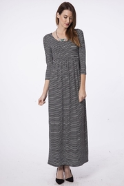 Fantastic Fawn Black-&-White Stripe Maxi - Product Mini Image