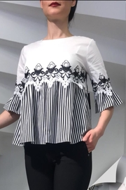 kokart Black&White Top - Front cropped