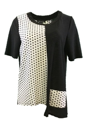 Michael Tyler Collections Black/white Top - Product Mini Image