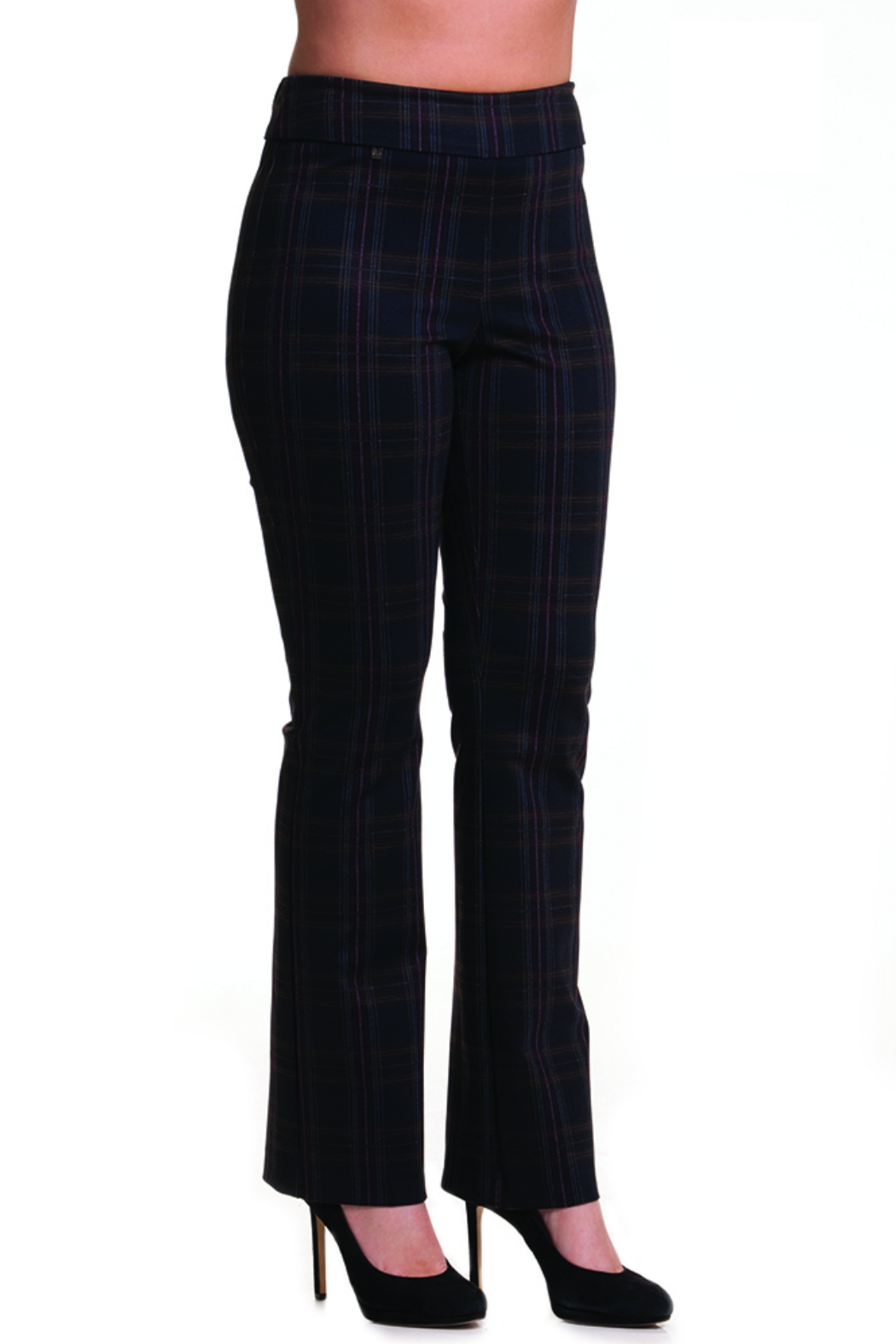 481d1a28567ec Bali Corp. Black Wine Plaid Pant from New Jersey by Charlotte s Web ...