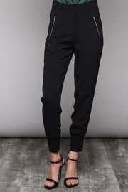 Do & Be Black Zipper Joggers - Product Mini Image
