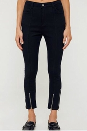 Hayden Black Zipper Pants - Product Mini Image