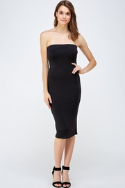 Black Bead Tube Midi Dress - Product Mini Image