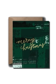 Black Lab Studio Abstract Christmas Card - Front cropped