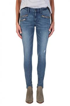 Shoptiques Product: Billie Zipper Skinnies