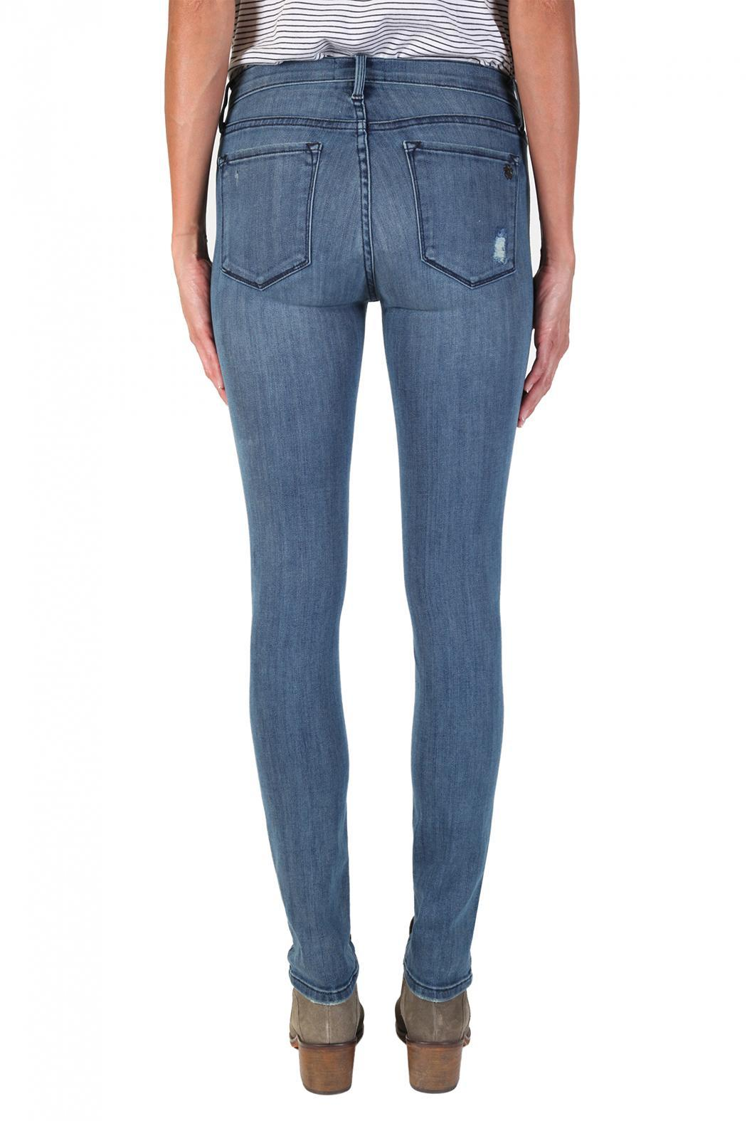 Black Orchid Denim Billie Zipper Skinnies - Side Cropped Image