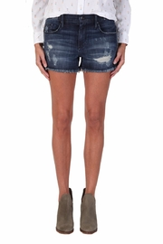Black Orchid Denim Boyfriend Denim Shorts - Product Mini Image