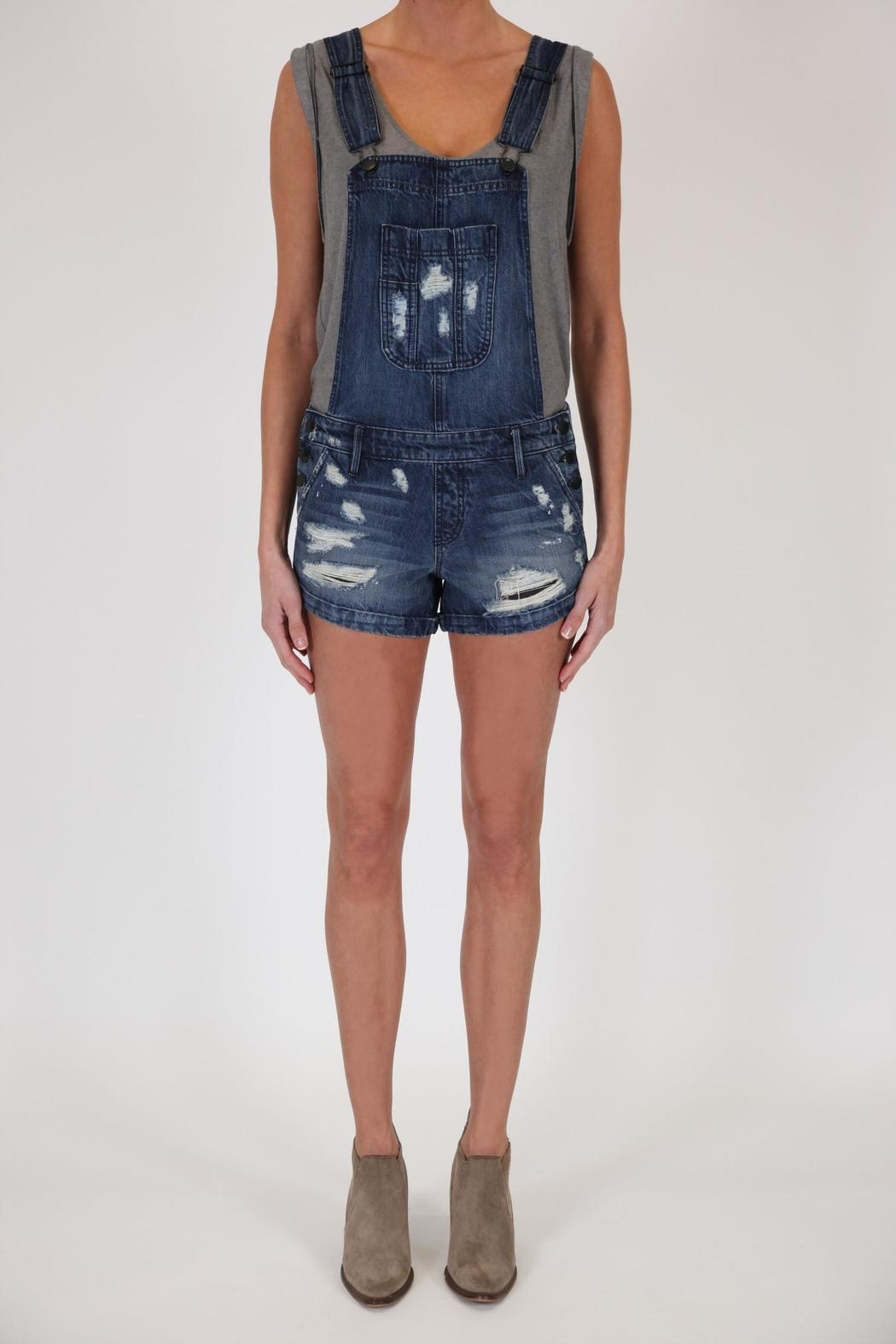 Overalls Are Making A Comeback As The Latest Fashion Trend: Black Orchid Denim Denim Short Overalls From Florida By